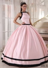 Cheap Ball Gown Colourful Long Quinceanera Dresses with Bateau
