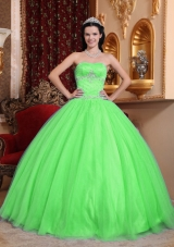 Popular Puffy Sweetheart Quinceneara Dresses with Beading