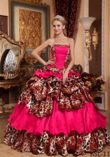 Elegant Puffy Strapless Pick-ups Quinceanera Dresses for 2014