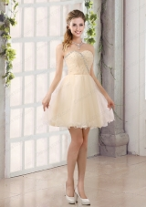 2015 Sturning Sweetheart A Line Prom Dress with Beading