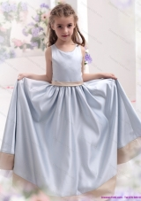Silver Scoop 2015 Comfortable Little Girl Pageant Dress with Waistband