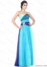 Sexy Multi Color Sweetheart Prom Dresses with Ruffles and Beading