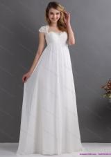 2015 New Style Sweetheart Wedding Dress with Floor Length