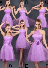2016 Winter Perfect Lilac A Line Luxurious Dama Dresses