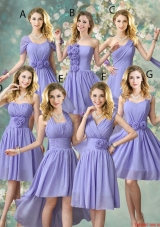 Fashionable Hand Made Flowers Bridesmaid Dresses with A Line