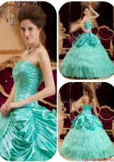 Spring Perfect Pick Ups and Ruffles Quinceanera Gowns