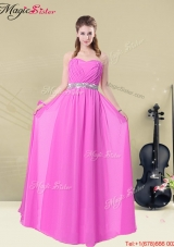 Winter Gorgeous Empire Sweetheart Bridesmaid Dresses with Ruching and Belt