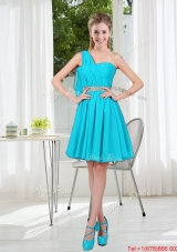 Beautiful A Line One Shoulder Bridesmaid Dresses for Party