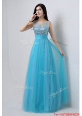 Best Selling Sweetheart Tulle Prom Dresses with Beading for 2016