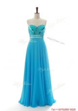 New Style Empire Sweetheart Prom Dresses with Sequins and Beading