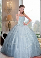 Elegant Sweetheart Ball Gown Quinceanera Dresses with Beading