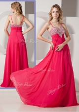 Brand New Style Spaghetti Straps Bridesmaid Dresses with Beading