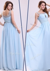 Lovely Empire Straps Sweetheart Prom Dresses with Beading