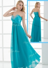 2016 New Arrivals Empire Sweetheart Beading Prom Dresses