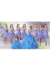 Elegant Multi Color Tulle Quinceanera Dresses and Lovely Ball Gown Mini Quinceanera Dresses and Fashionable Hand Made Flowers Dama Dresse