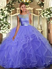 Lovely Floor Length Backless Quince Ball Gowns Multi-color for Sweet 16 and Quinceanera with Beading