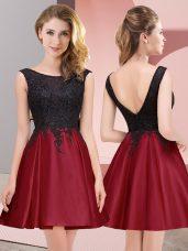 Graceful Sleeveless Lace Zipper Wedding Guest Dresses