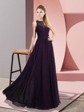 Fancy Sleeveless Lace Zipper Going Out Dresses