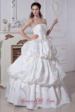 Ball Gown Wedding/Maternity Dress Princess Layered