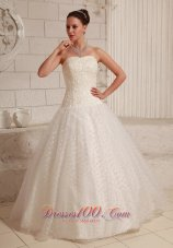 Appliques Wedding Bridal Dresses Ball Gown Special Tulle
