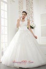 High Neck Beading Bridal Wedding Dresses