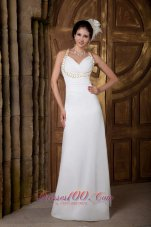 Classy Empire V-neck Prom Dress Discounted Ruch