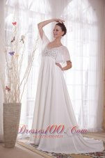 Vintage A-Line Chiffon Beading Mother Of The Bride Dress