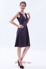 Indigo Empire V-neck Prom Dress Knee-length for sale
