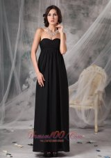 Empire Little Black Maxi Dress Ankle-length Outlet