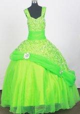 Spring Dreen Sequins Little Girl Pageant Dresses