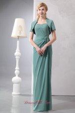 Lemon Green Bridesmaid Dress Chiffon Sequins