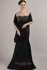 Matching Shawl Column Beadwork Mother Bride Dress