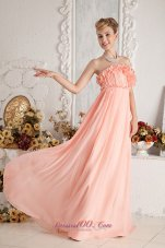 Watermelon Empire Ruch Prom Dress Hand Made