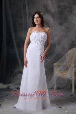 Prom / Celebrity Dress Beading and Ruch Sweep Train