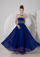 Empire Prom Dress Chiffon Beading Pattern
