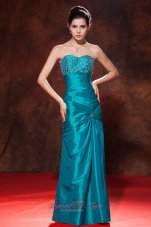 Discount Prom Dress in Sheath Beading Taffeta Style