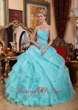 Sweetheart Quinceanera Dress in Apple Green 2013