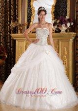 Popular Quinceanera Dress Sweetheart Organza Sequined