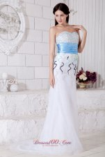 Muti-Color Sweetheart Beaded Prom Evening Dress