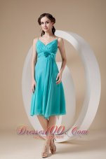 Flowers Skirt Straps Short Graduation Homecoming Dress