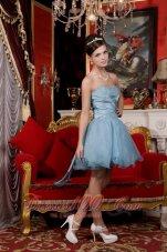 Sweetheart Beading Organza Prom / Homecoming Dress