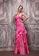 Pink Sweetheart Beading Prom Dress For Formal Evening