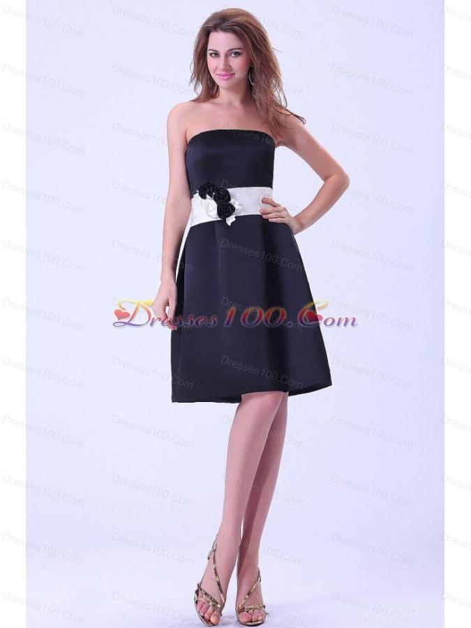 black made bridemaid dress white belt us 99 54
