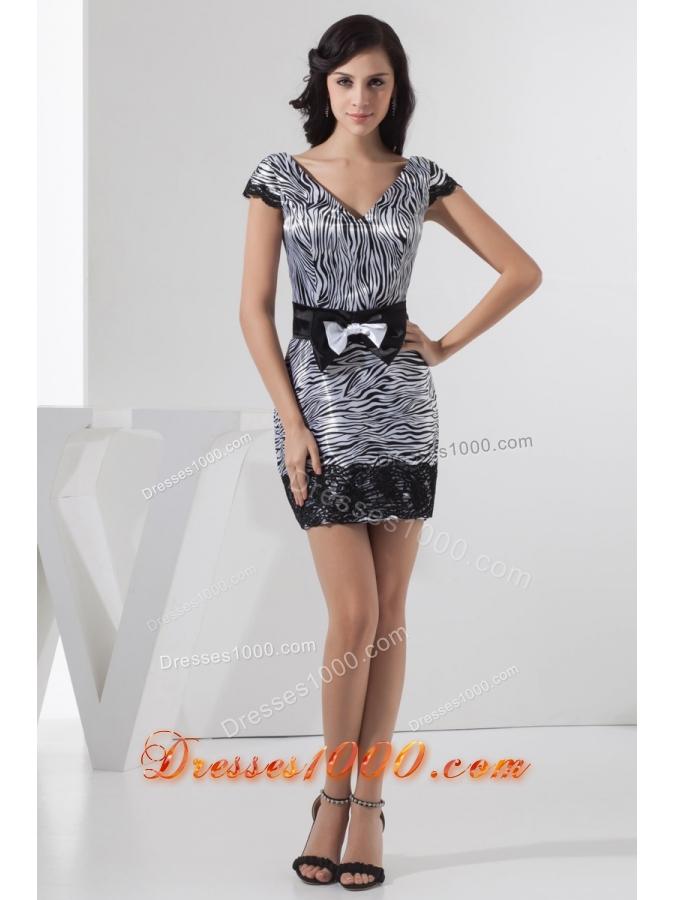 Zebra Prom Dresses 102