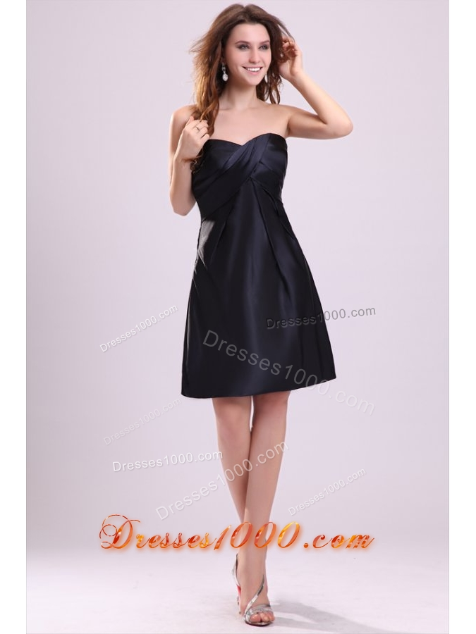 Sweetheart ruching taffeta knee length prom cocktail dress for Cocktail 102