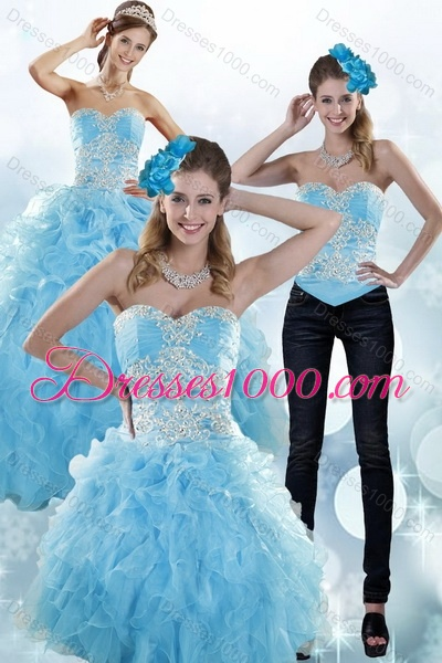975527d1490 ... Ruffled Quinceanera Dresses with Beading. Detachable 2015 Strapless  Mu...US 238.54. triumph