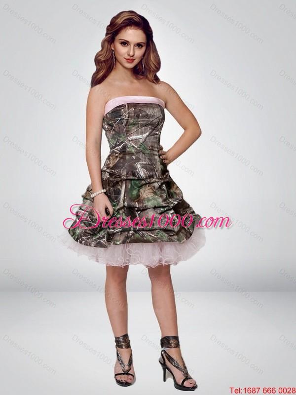 Short Prom Dresses: Camo Short Prom Dresses