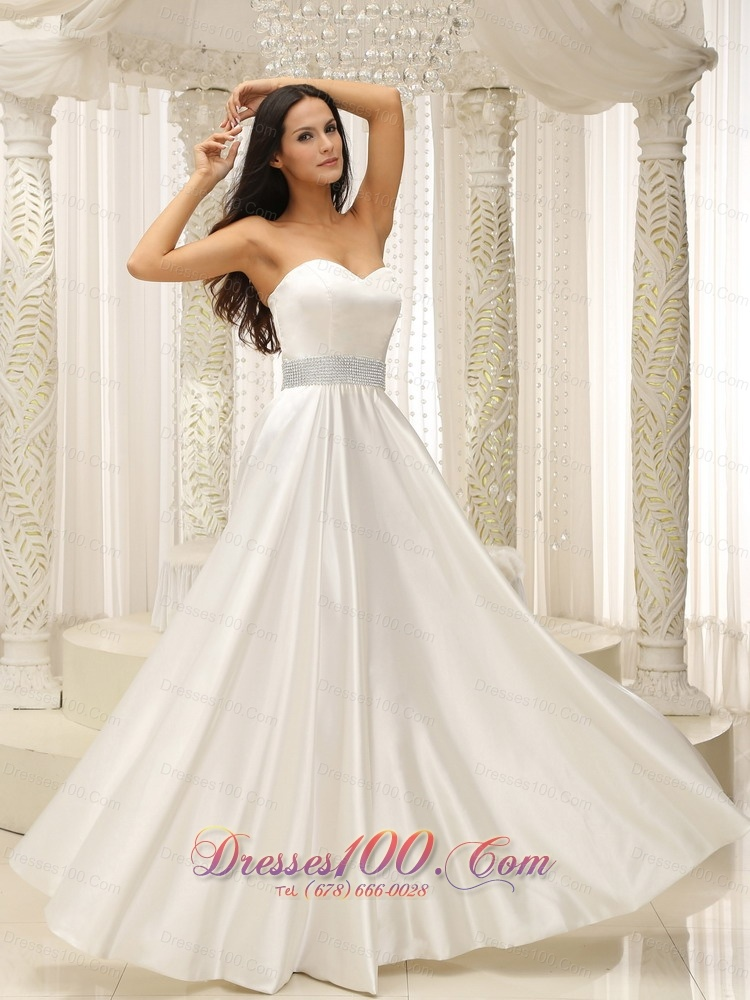 2013 unique elastic woven wedding gown beaded sash us for Sell a wedding dress