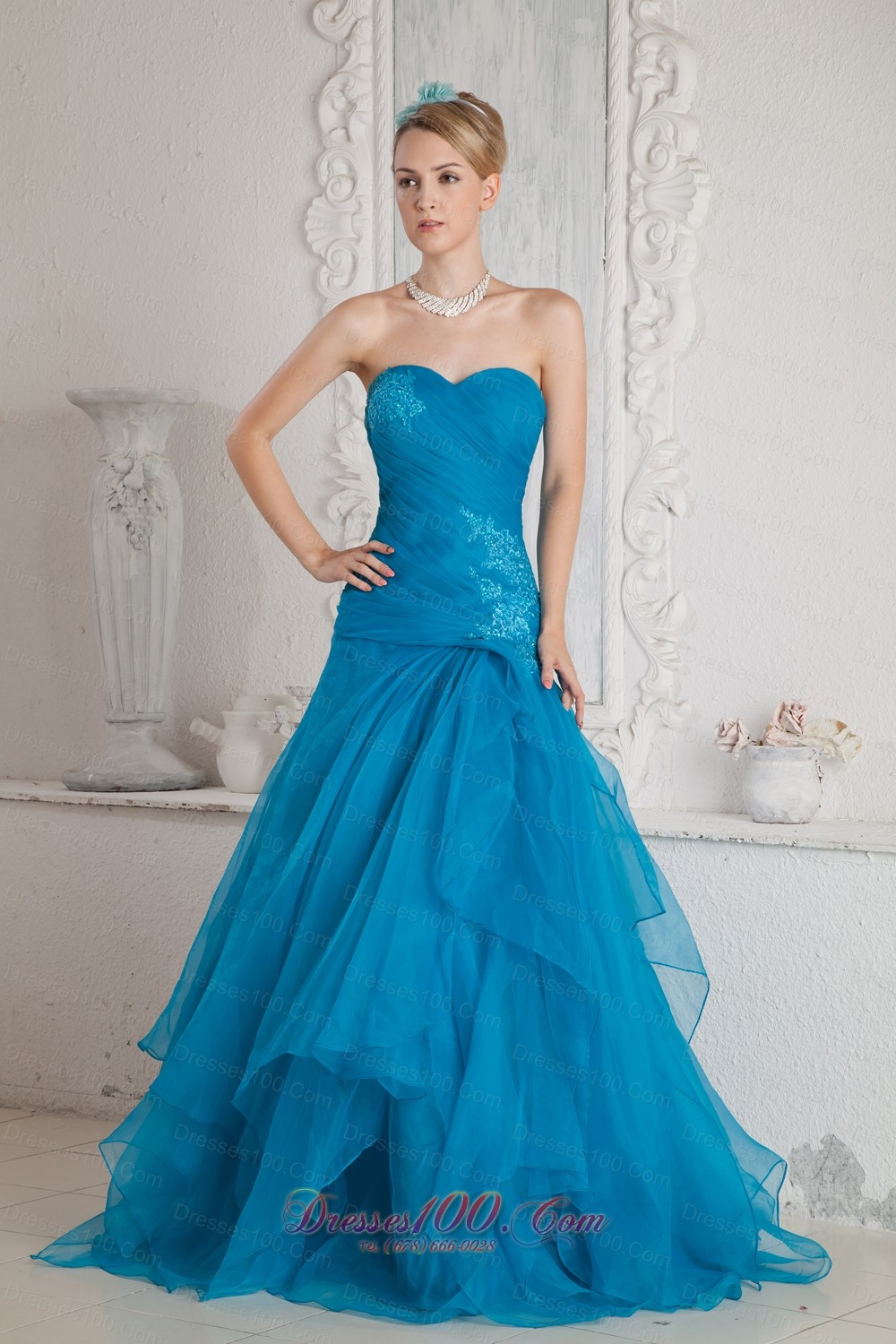 Teal Color Prom Dresses - Prom Dresses Cheap